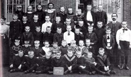 1905 klas met Spaargarens