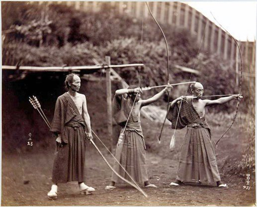 Japanse boogschieters 1860-90-1-1