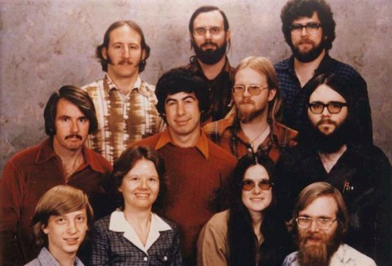 staf Microsoft 7 dec. 1978-1
