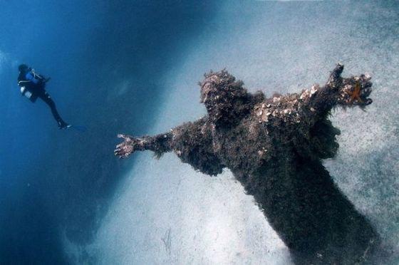 Vondst op de bodem van de zee...onze lieve Heer