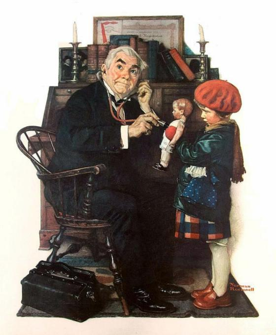 Rockwell_1929_Doctor+doll-001