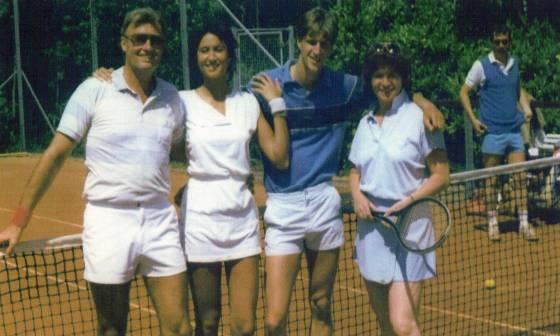 1986 Eerste All Out Mix Team kampioen 2e klas