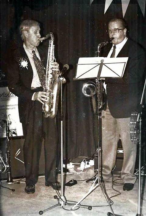 Ab Carels en Jan Romkema