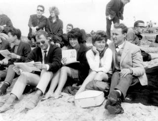 Zandvoort 1963 Ab=Nanny en Kiki en Eddie
