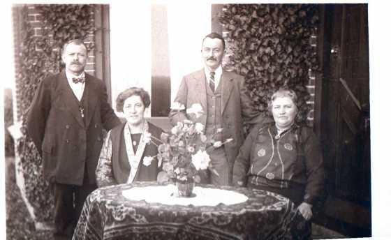1920 Han en Ger Boom + Klaas en Maartje Mantel