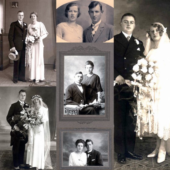 onderin 1927 huwelijk Maatje met Maarten Bol