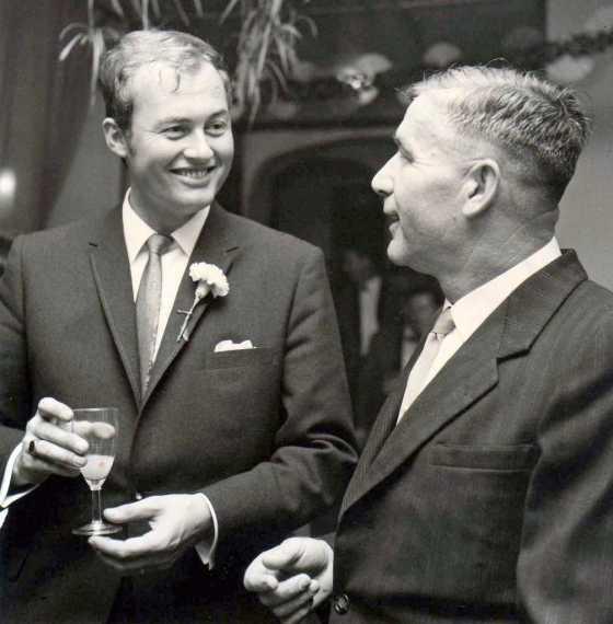 1967 24 nov. Ed en Alex Orloff Davidoff