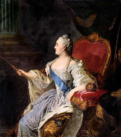 Profile_portrait_of_Catherine_II_by_Fedor_Rokotov_(1763,_Tretyakov_gallery)