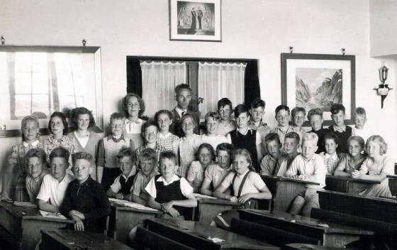 1949 6e klas columbiaschool