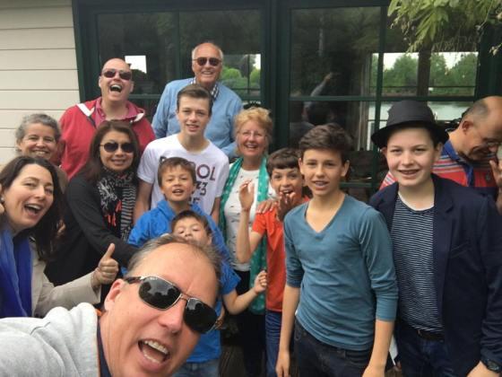 Familie Mantel (14 totaal) 4 maart 2016