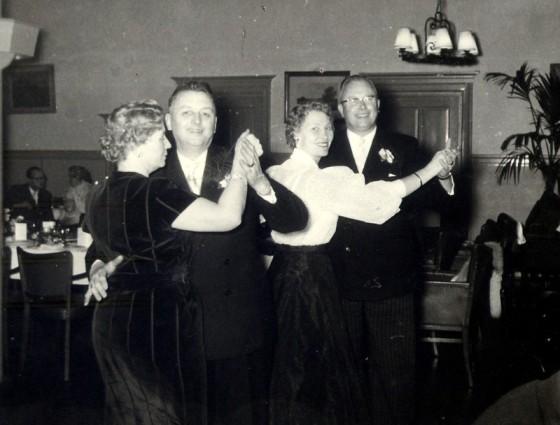 Feest in de Uil 1954 Lien-Cor Hazina-Jaap