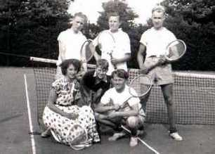 tennis in 1954