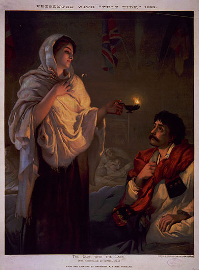 390px-The_lady_with_the_lamp_Miss_Nightingale_at_Scutari_1854.jpg